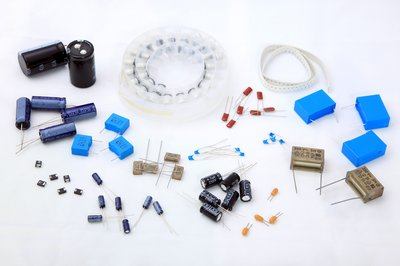 assorted circuit board parts