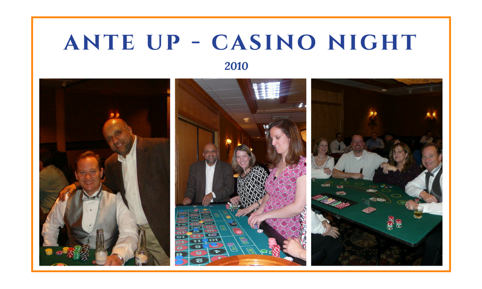 Advanced Assembly CEO and employees playing roulette and blackjack